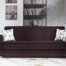 Argos Colins Brown Sleeper Sofa  by Sunset