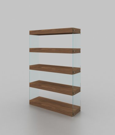 Elm Curio Unit by J&M Furniture