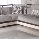 Natural Sectional Sofa Bed Valencia Gray