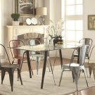 Bellevue industrial Rectangular 7Pc Dining Set