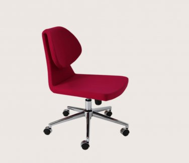 Gakko Office Chair in Ankara Wool by sohoConcept