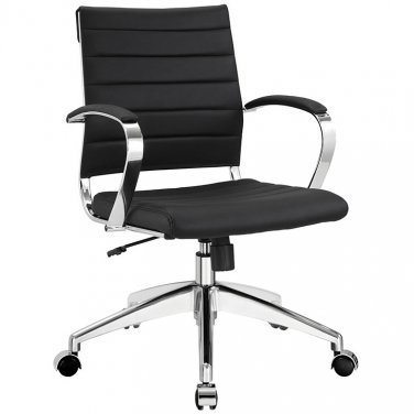 Marco Modern Office Chair in Black Vinyl