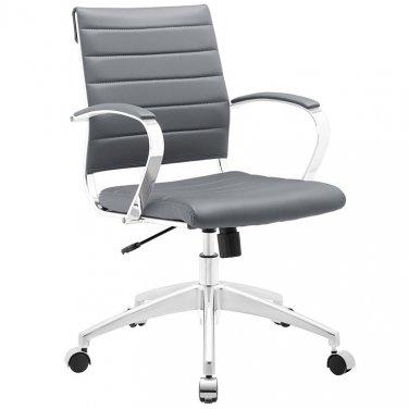 Marco Modern Office Chair in Grey Vinyl