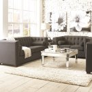 Cairns 3pc Charcoal Living Room Sofa Set