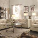 Cairns 3pc Oatmeal Living Room Sofa Set