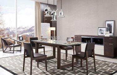 E537T 5pc Modern Dining Set