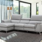 Serena Sectional Sofa in Premium Leather by J&M