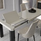 Zara Table with Sandra Chairs Modern Dining Set ESF