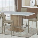 D2116BT/D6605BS Counter Height 5pc Dining Set by Global