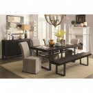 Maya 6 Piece Dining Set