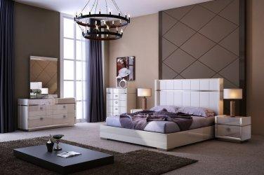 Paris Queen Size Bedroom Set by J&M