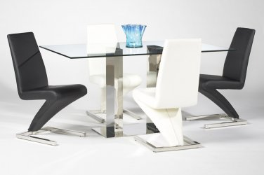 Sabrina Rectagular 5pc Dining Set by Chintaly Imports