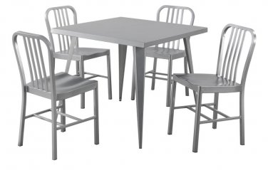 Thomas Industrial Style 5pc Dining Set