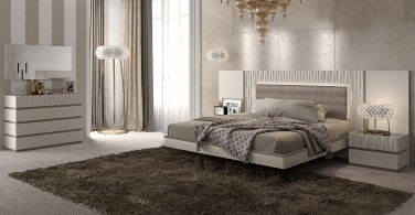 Marina Queen Size 5pc Bedroom Set by ESF