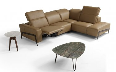 Ocean Miele Premium Leather Sectional