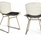 Set of 2 Venice Metal Side Chair