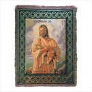 Spiritual Inspirations Tapestry Throw - Lord Is My Shepherd