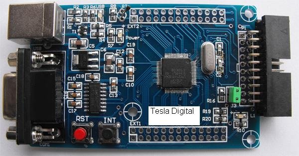 LPC2148 small system board