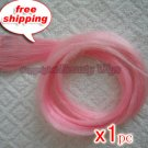 """High Quality Clip In Silky Straight 23"""" Hair Extensions for one pc-- Pink~available now~"""