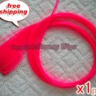 """High Quality Clip In Silky Straight 23"""" Hair Extensions for one pc-- Brt. Pink~available now~"""