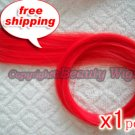 """High Quality Clip In Silky Straight 23"""" Hair Extensions for one pc-- Red~available now~"""