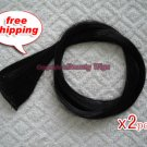 "High Quality Clip In Silky Straight 23"" Hair Extensions for two pcs-- Black ~available now~"