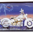 Motorcycle Clock    #  29489