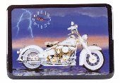 Motorcycle Clock    #  29489