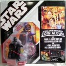 Darth Vader Coin #01 Album Star Wars 30th Aniv. MIP