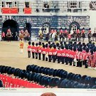 Trooping the Colour London Postcard 2L38 Mint c 60's