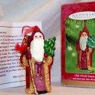 Hallmark Old World Santa '01 Linda Sickman Chalkware