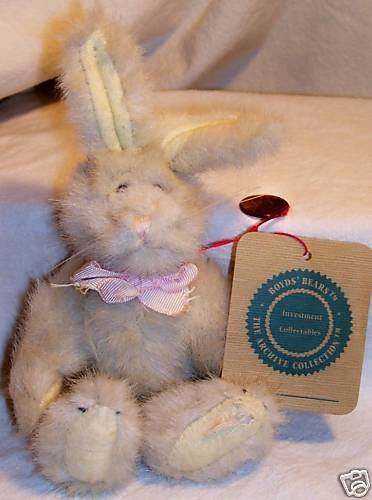 Boyd Bears Rabbit 90-93 Archive Investment Collectable