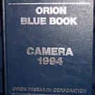 Orion Blue Book CAMERA '94 Reference Hardback Very Good
