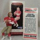 Hallmark NFL Joe Montana Keepsake Football Legends Collectors 1995 .