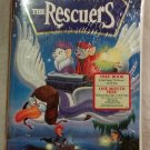 DISNEY'S THE RESCUERS Clamshell VHS Special RECALLED OOP Edition MIP NEW 10014