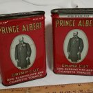 Vintage Prince Albert Tobacco Tin Can set of 2 pieces