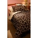 "1000TC Giraffe Print 24"" Super Deep Pocket Queen Sheet Set 100% Pure Egyptian Cotton"