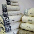 6-PC Water Weaves Towel Set