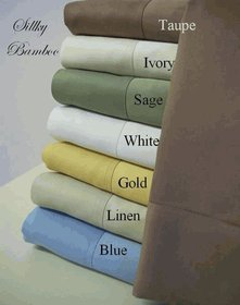 100% Bamboo cotton Sheet Sets California King Size
