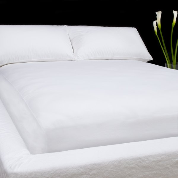 Deep Pocket White Fitted Sheet 600TC Queen Size 100% Egyptian Cotton