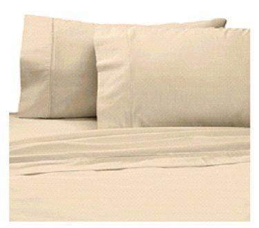 Deep Pocket Tan Fitted Sheet 600TC Queen Size 100% Egyptian Cotton