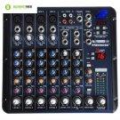 Freeboss Smr8 4 Mono + 2 Stereo 8 Channel 16 DSP Usb Audio Mixer