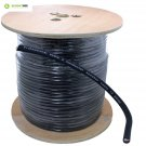 500 Ft Spool of pro audio PA 12 Gauge Awg 2 Conductor Speaker Wire - Black