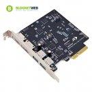 NewerTech MAXPower 2x 2 USB/eSATA PCIe 2.0 Host Adapter for Mac OS X 10.6 - 10.8