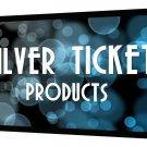 STR-169100-G Silver Ticket 4K Ultra HD Ready Cinema Format (6 Piece Fixed Frame)