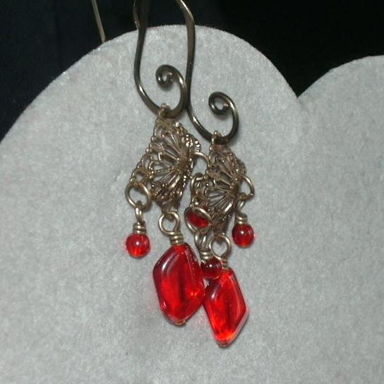 Valentine Dangle Earrings