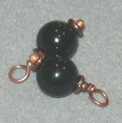 A Beautiful Pair of Baubles in Copper