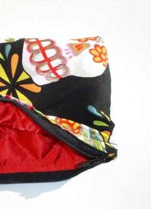 Day of the Dead wallet coin purse-Dia De Los Muertos w/zipper Big enough 4 Make-up
