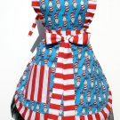 Classic Dr. Seuss The Cat in the Hat Deluxe Full Apron