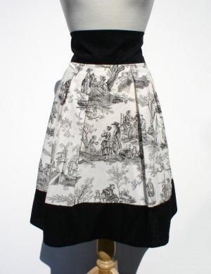 NEW Day of the Dead Midnight Pastoral Skirt